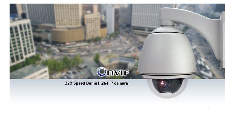22X Speed Dome H264 IP Camera
